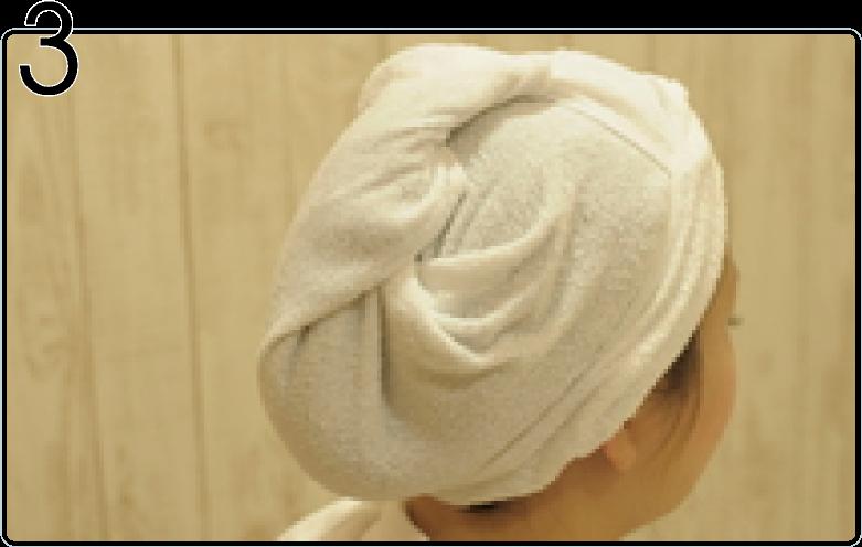 頭皮洗浄の流れ3